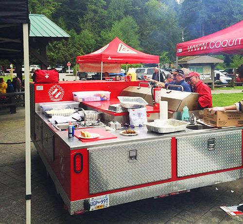 Kinsmen Club of Coquitlam Food Truck
